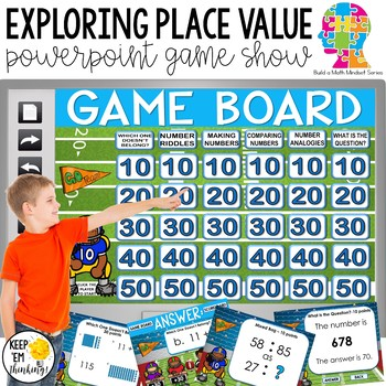 Place Value Game Show For Advanced 2nd Grade