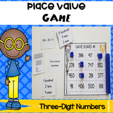 Place Value Game - Three Digit Numbers