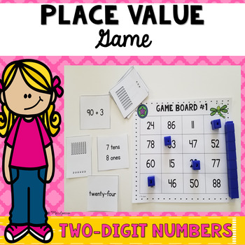 Place Value Game - Two Digit Numbers