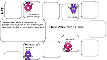 Place Value Games!