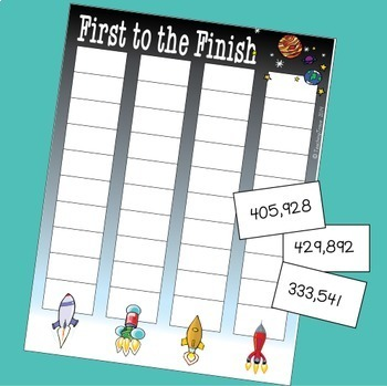 Place Value Games to 1 000 000