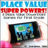 Place Value PowerPoint Games for First Grade