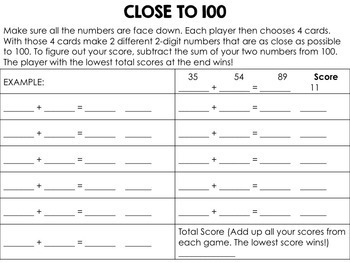 Place Value Games for Middle Grades