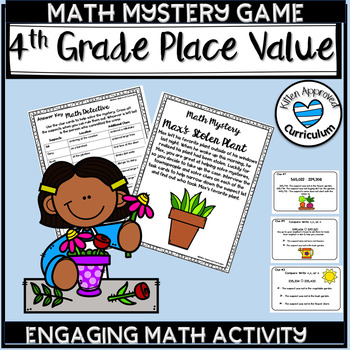 Place Value Games 4th Grade Math Mystery