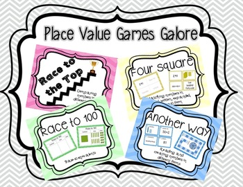 Place Value Games Galore: Tens, Hundreds, and Thousands