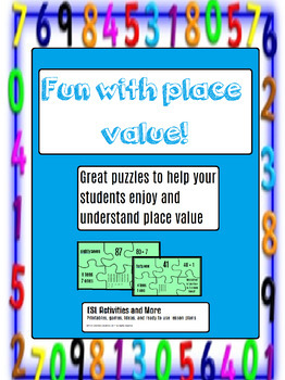 Place Value Games - PUZZLES