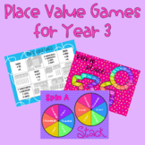 Place Value Games - Year 3