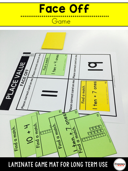 Place Value Games and Centers 1st Grade