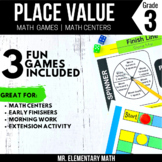 3rd Grade Place Value Games and Centers