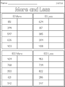 Place Value Games and Printables