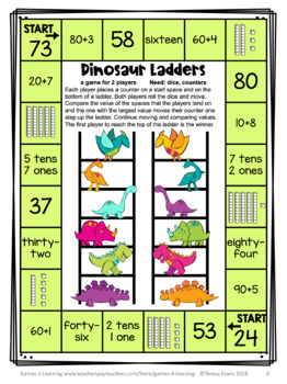 Tens and Ones Place Value Free - Place Value Games for 2 Digit Numbers