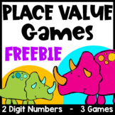 Free Place Value Games for 2 Digit Numbers - Tens and Ones