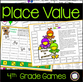 Fourth Grade Place Value Games