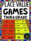 Place Value Games for Third Grade