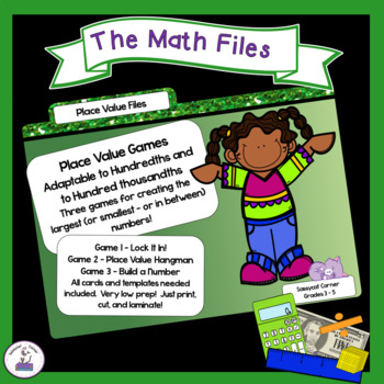 Place Value Games for Thousands and Beyond - Centers and Group Activities