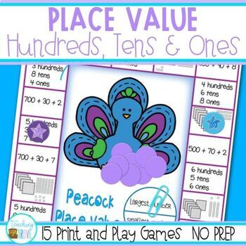 Place Value Games to 1,000