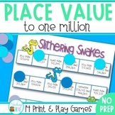 Place Value Games to One Million