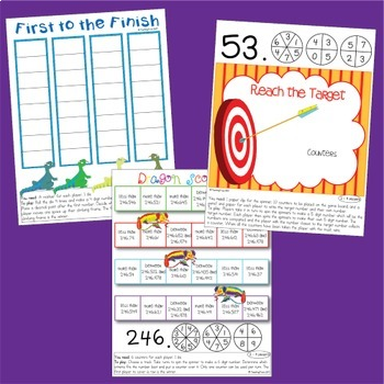 Decimals Place Value Games -  NO PREP Games and Interactive Worksheets