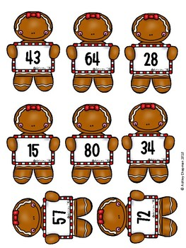 Place Value Gingerbread