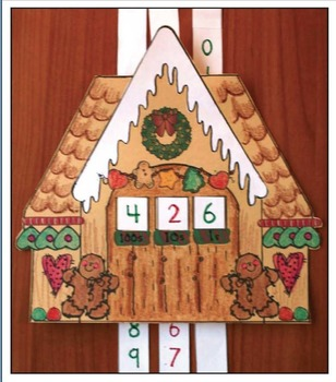 Place Value Gingerbread House Activities