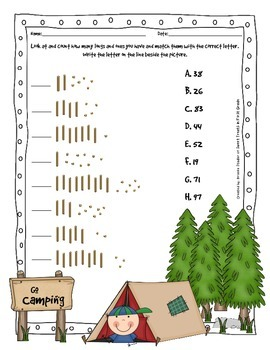 Place Value - Go Camping!
