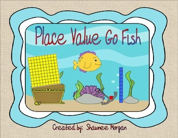 Place Value Go Fish Game