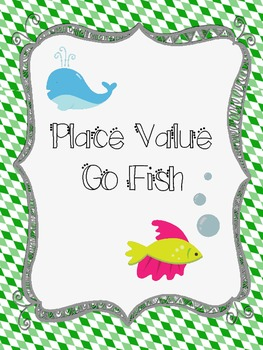 Place Value Go Fish with Base 10 blocks
