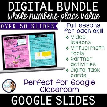 Place Value Digital Interactive Lesson Pack {BUNDLE}