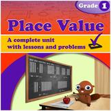 Place Value, Grade 1