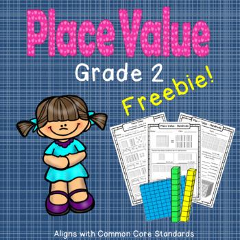 Place Value Grade 2 - FREEBIE!