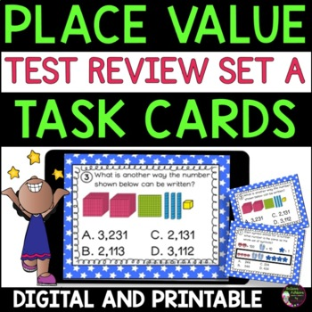 Place Value-Grade 3  (Great for Test Review!)