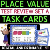 Place Value Task Cards: Grade 3  (Great for Test Review!)