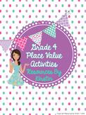 Grade 4 Ontario Place Value Activities