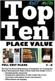 Place Value Grade 3 4 5 & 6 Full Unit Plan Lesson Bundle Australia