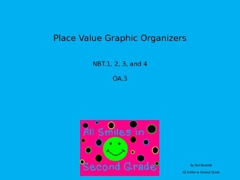 Place Value Graphic Organizer Sampler