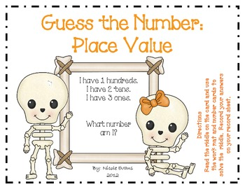 Place Value - Guess the Number