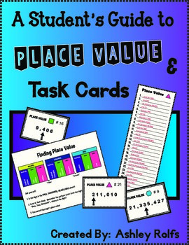 Place Value Guide, Task Cards & Game!