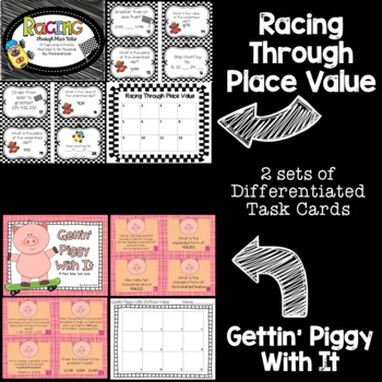 Place Value Guided Math Task Cards