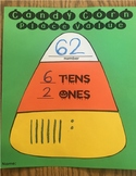 Place Value Halloween Candy Corn Craft