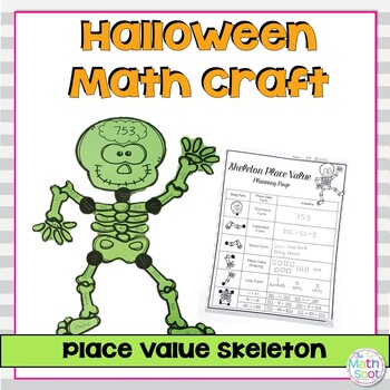 Place Value Holiday Craftivities Bundle
