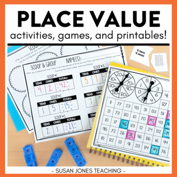Place Value Activities for First Grade!