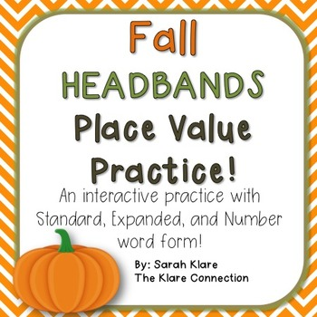 Place Value Headbands! {A Math Review Game}