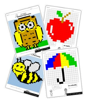 Place Value Activities - Mystery Pictures Coloring Worksheets