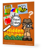 Place Value Mystery Puzzles, Color by Place Value Coloring Pages