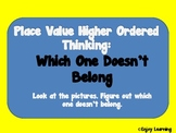 Place Value Higher Ordered Thinking