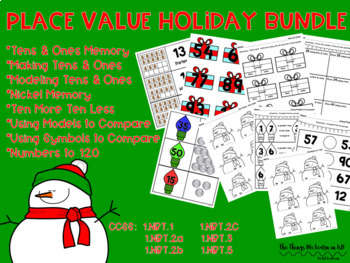 Place Value Holiday Math Activities - 8 Resources!