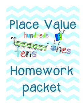Place Value Homework Packet -- Common Core Aligned!