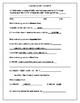 Place Value Homework & Quiz (sample)