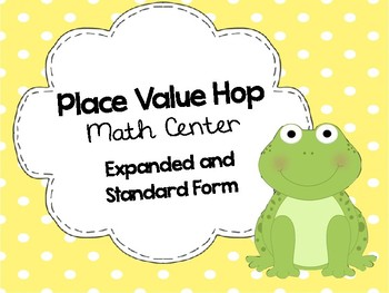 Place Value Hop