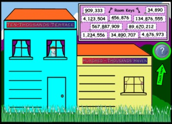 Place Value Hotel Smart Notebook Lesson